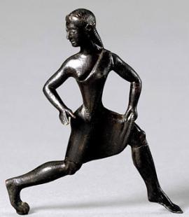 Spartanische Tänzerin